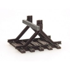 316043 Painted Buffer Stop B with buffers (N scale 1/160th)