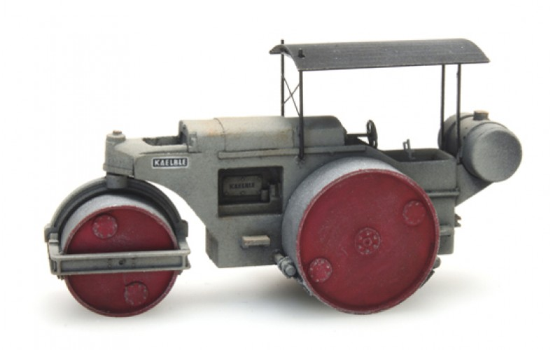 316058 Road Roller Grey (N scale 1.160)
