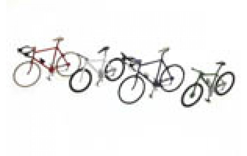 387219 Painted 4 Assorted Sports Bikes (OO/HO 1/87th)