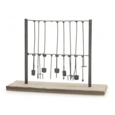 387224 Painted Loco Tool Rack (OO/HO 1/87th)