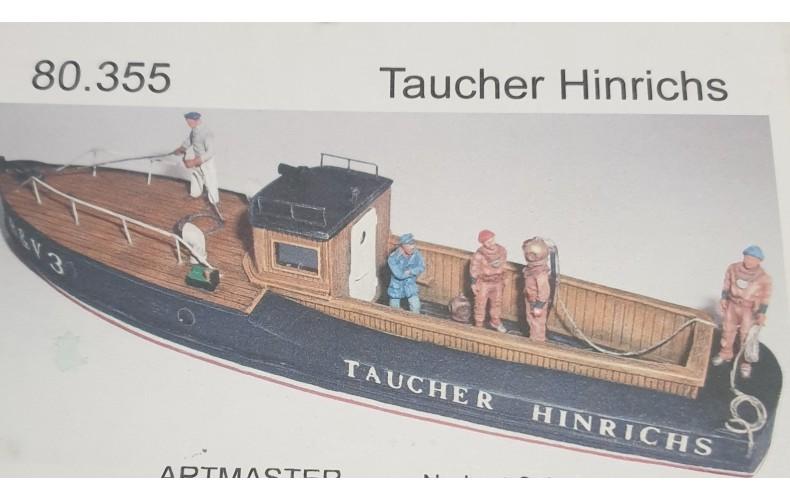 80355 Deep Sea Diver Boat River Cruiser (HO Scale 1/87th)