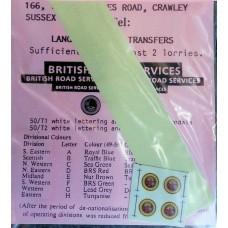50T2 1/50 B.R.S. Transfers Cream Roundalls