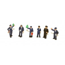 A121 6 Station Platform Staff Unpainted Kit N Scale 1:148