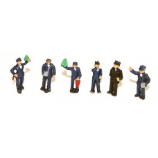A121p Painted 6 Platform Station Staff N Scale 1:148