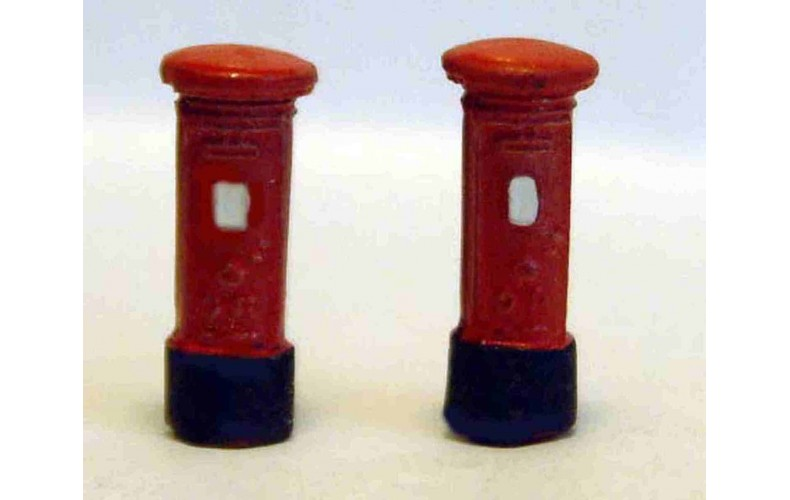 A12 5 Pillar boxes Unpainted Kit N Scale 1:148