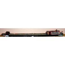A18b 72ft Industrial Motor Boat Unpainted Kit N Scale 1:148
