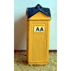A21p Painted AA Box N Scale 1:148