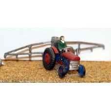 A26 Modern Tractor & spray boom Unpainted Kit N Scale 1:148