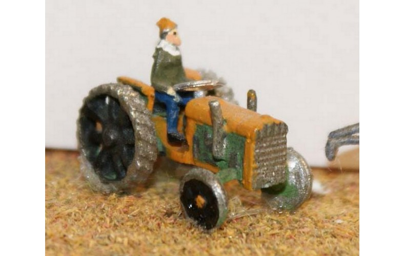 A27 Period Tractor (1940's to present) Unpainted Kit N Scale 1:148