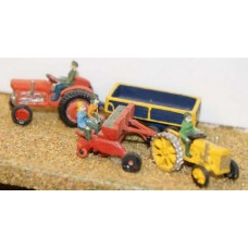 A29 Farm machinery-spring planting Unpainted Kit N Scale 1:148