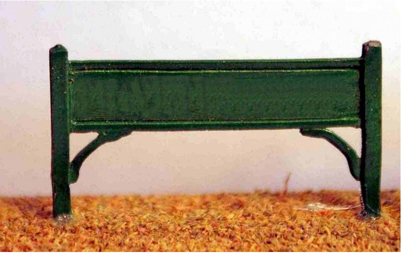A2 2 small station name boards Unpainted Kit N Scale 1:148