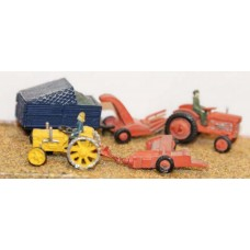 A30 Farm machinery-Harvesting Unpainted Kit N Scale 1:148