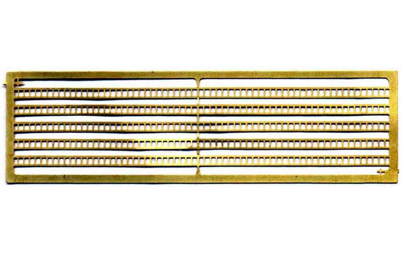 A32 10 brass ladders Unpainted Kit N Scale 1:148