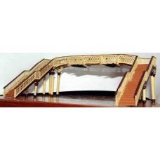 A34 Lattice footbridge Unpainted Kit N Scale 1:148