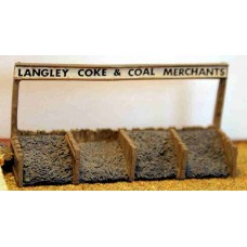 A39 Coal Staithes (bunkers) & nameboard Unpainted Kit N Scale 1:148