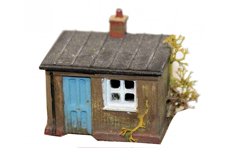 A40 Platelayers hut  Unpainted Kit N Scale 1:148