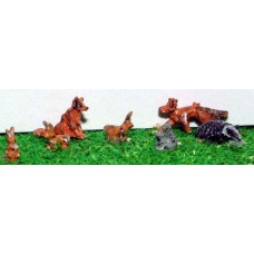 A64p Painted Wild Animals N Scale 1:148