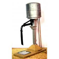 A7 Water tank & swinging crane Unpainted Kit N Scale 1:148