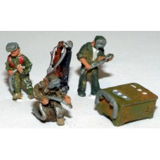 A91p Painted Welding Figures & Equipment N Scale 1:148