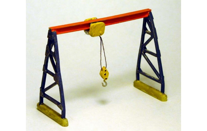 A97 Gantry Hoist Unpainted Kit N Scale 1:148