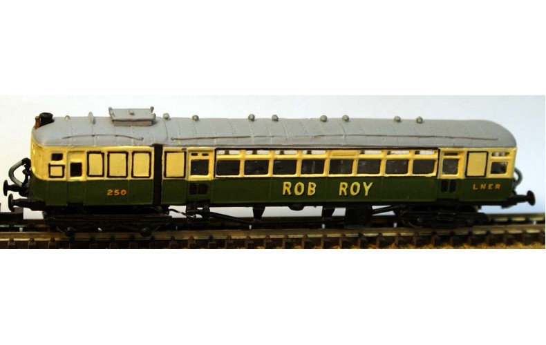 B11 LNER Sentinel Steam Railcarreqs dmu8109 Unpainted Kit Nscale 1:148