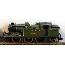 B13 L.N.E.R. N2 reqs prarie chassis Unpainted Kit Nscale 1:148