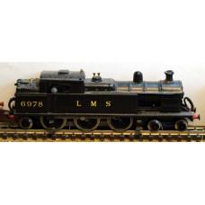 B16 L.N.W.R./L.M.S. Prince of Wales Tank reqs prarie Unpainted Kit Nscale 1:148