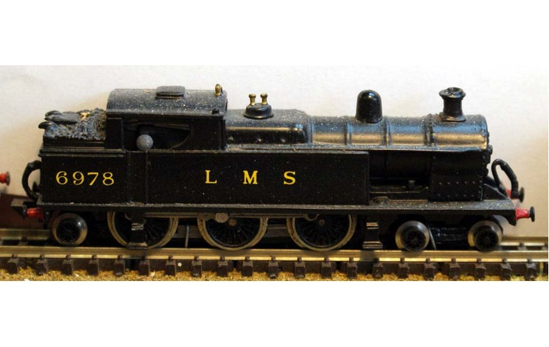 B16 L.N.W.R./L.M.S. Prince of Wales Tank reqs prarie Unpainted Kit Nscale 1:148