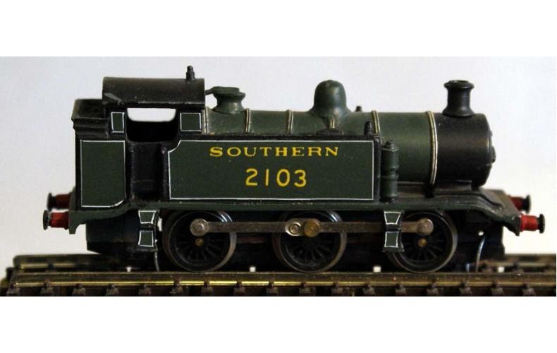 B18 Southern E2 0-6-0 reqs pannier94xx Unpainted Kit Nscale 1:148
