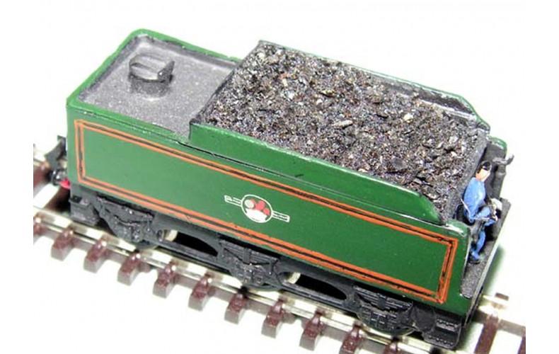 B1b LNER B2/C7 tender/coal rails inc.chassis Unpainted Kit Nscale 1:148