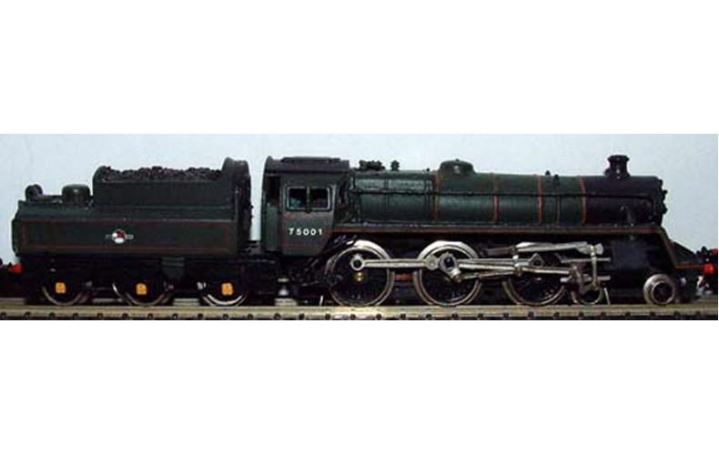 B23 BR Class 4,4-6-0/BR2 tender reqs black5 Unpainted Kit Nscale 1:148
