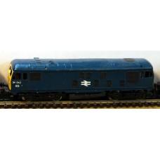 B24 B.R.Class 24(Derby type 2)reqs class25 8309 Unpainted Kit Nscale 1:148