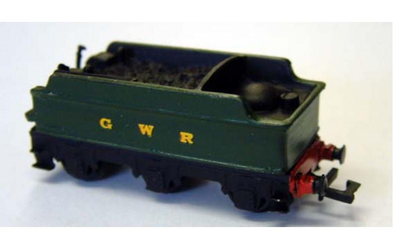 "B2b 7'6"" GWR tender & underframe  Unpainted Kit Nscale 1:148"