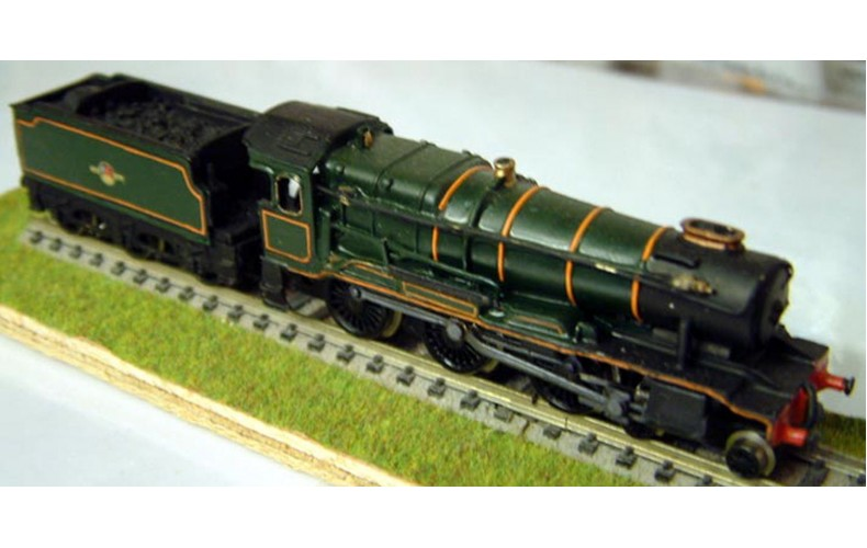 B37 GWR County & tender reqs hall loco Unpainted Kit Nscale 1:148
