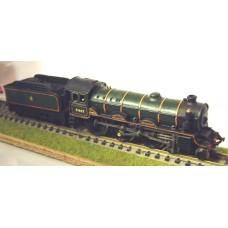 B38 LNER B2 incl Tender reqs A3 loco Unpainted Kit Nscale 1:148