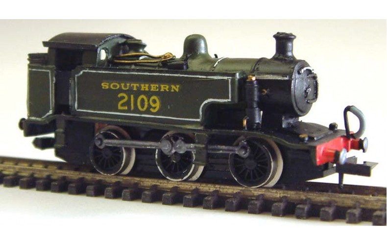 B39 Southern E2 Extended Tankreq pannier94xx  Unpainted Kit Nscale 1:148