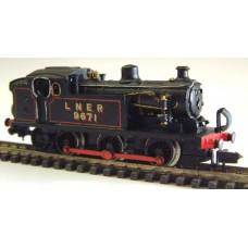 B41 LNER N7 reqs pannier 94xx Unpainted Kit Nscale 1:148