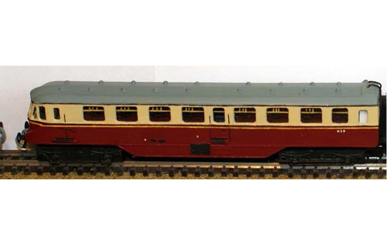 B5 GWR Twin Railcarreqs Original farish railcar Unpainted Kit Nscale 1:148