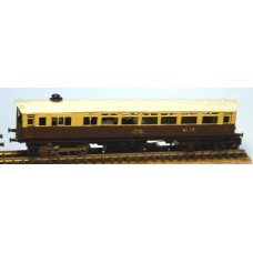 B8 G.W.R. Steam Railcar reqs lifelike C420 Unpainted Kit Nscale 1:148