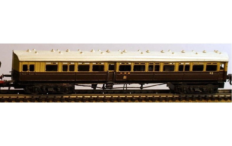 B9 G.W.R.14XX & Autocoachreq DMU motorbogie8109 Unpainted Kit Nscale 1:148
