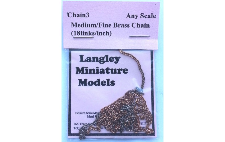 Medium/Fine Ring Link 18 links/inch CHAIN03