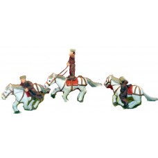 CIR4 Cossack Riders & horses Unpainted Kit OO Scale 1:76