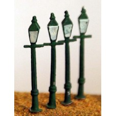 D13 4 square Gas/electric lamps Unpainted Kit N Scale 1:148