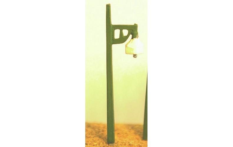 D15 4 S.R. single concrete platform lamps Unpainted Kit N Scale 1:148