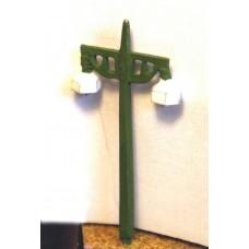 D16 4 S.R. double concrete platform lamps Unpainted Kit N Scale 1:148