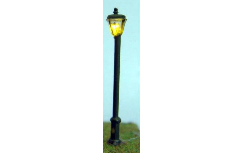 D18 Working street lamp kit (square)&LED Unpainted Kit N Scale 1:148