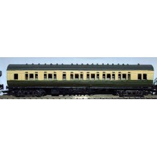 DS GWR Double Slip coach Unpainted Kit Nscale 1:148