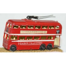 E11 Newcastle/London Q1 trolley bus 52-59 Unpainted Kit N Scale 1:148