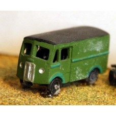 E18 Morris Commercial Van 1 ton 1950's Unpainted Kit N Scale 1:148