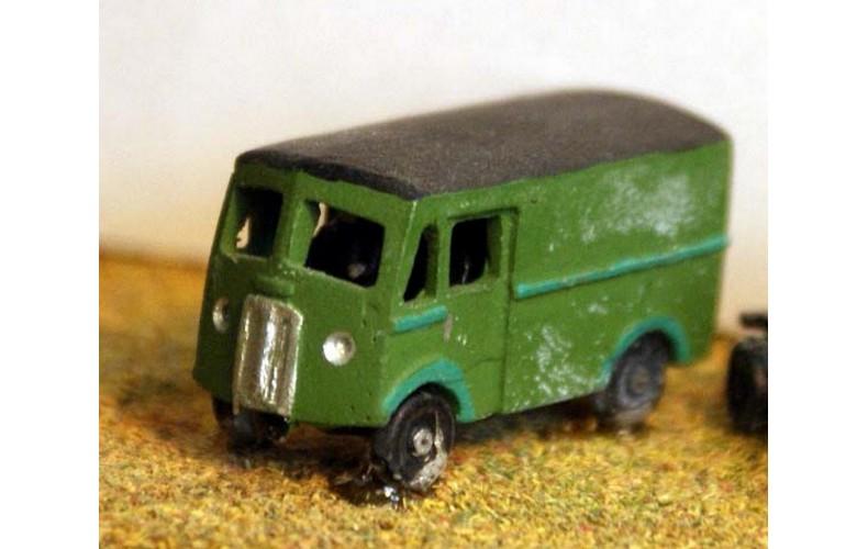 E18 Morris Commercial Van 1 ton 1950's Unpainted Kit N Scale 1:148